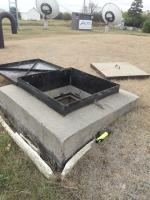 Potable Water tank hatch